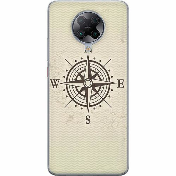Xiaomi Poco F2 Pro TPU Mobilskal Compass