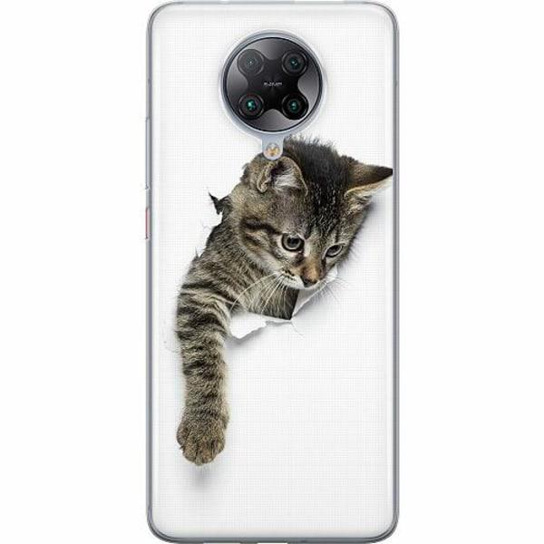 Xiaomi Poco F2 Pro TPU Mobilskal Curious Kitten