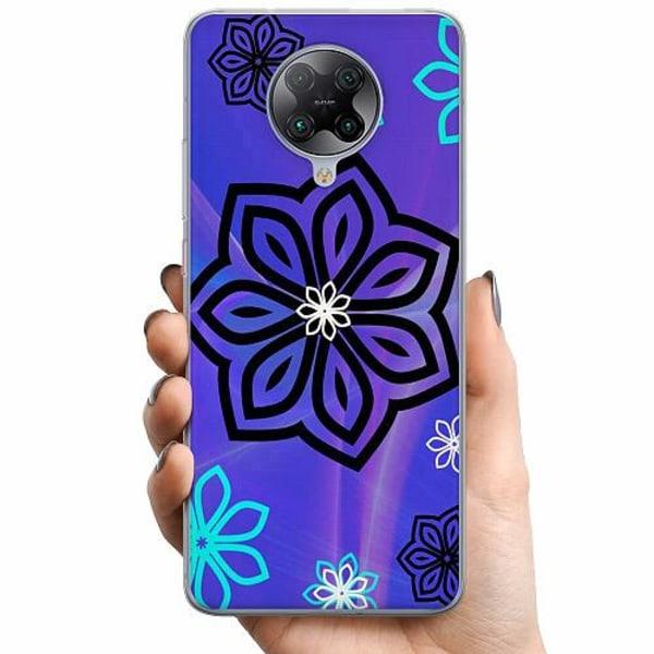 Xiaomi Poco F2 Pro TPU Mobilskal Flower on LCD