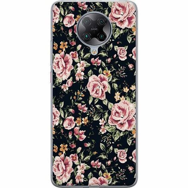 Xiaomi Poco F2 Pro TPU Mobilskal Flowers