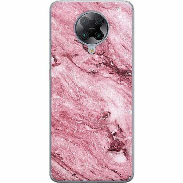 Xiaomi Poco F2 Pro TPU Mobilskal Glitter Marble
