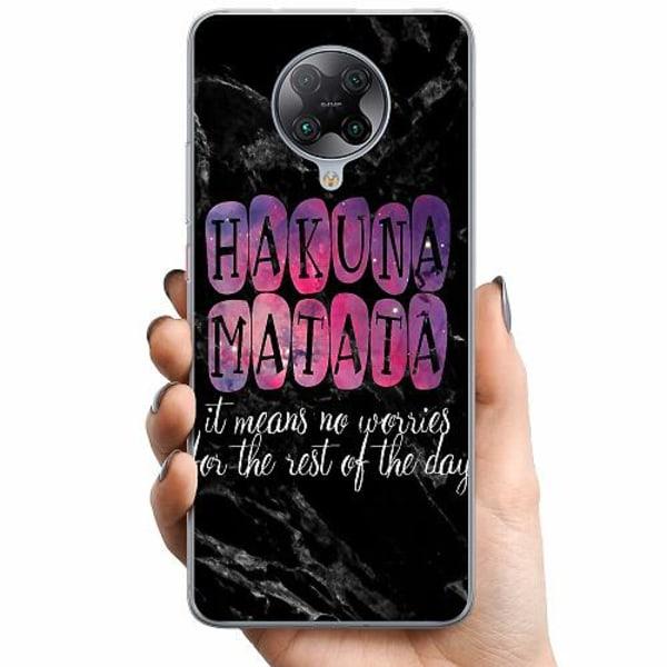 Xiaomi Poco F2 Pro TPU Mobilskal Hakuna Matata