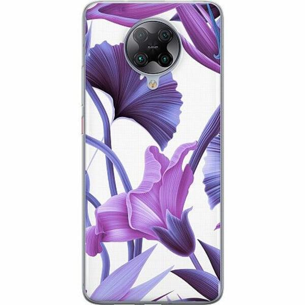 Xiaomi Poco F2 Pro TPU Mobilskal Lilac Bloom