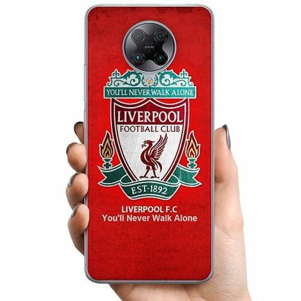 Xiaomi Poco F2 Pro TPU Mobilskal Liverpool YNWA