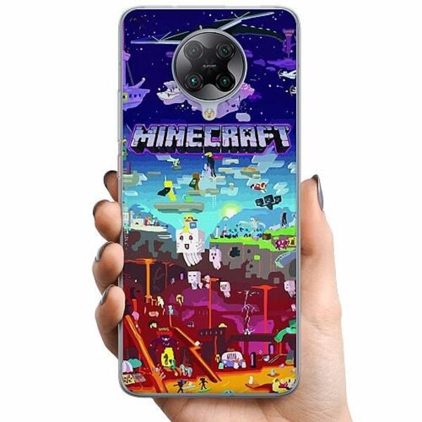Xiaomi Poco F2 Pro TPU Mobilskal MineCraft