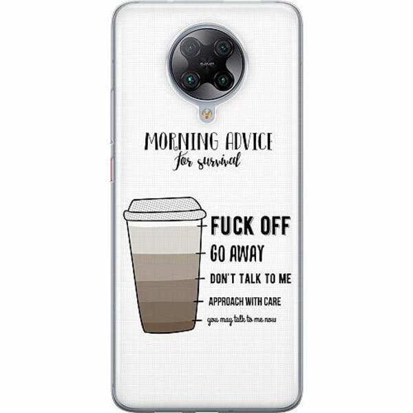 Xiaomi Poco F2 Pro TPU Mobilskal Morning Advice