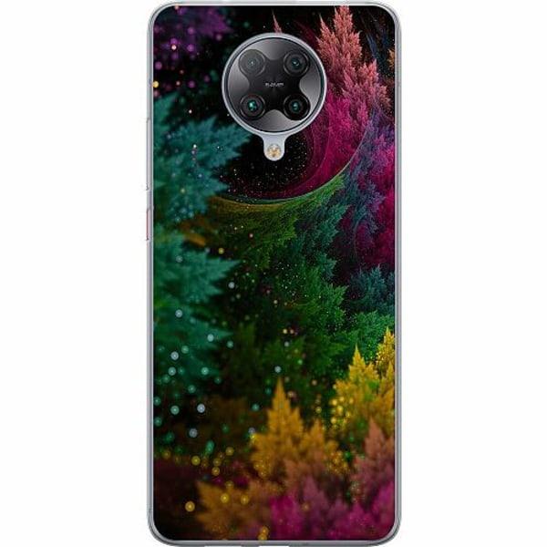 Xiaomi Poco F2 Pro TPU Mobilskal Pixel Forest