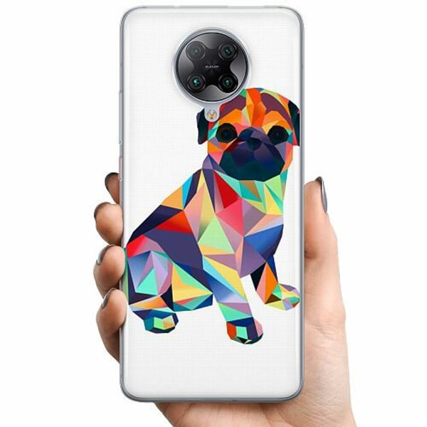 Xiaomi Poco F2 Pro TPU Mobilskal Pug
