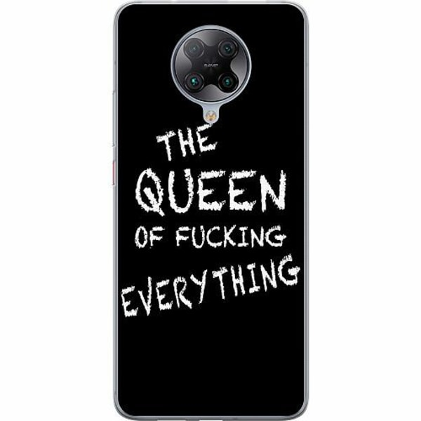 Xiaomi Poco F2 Pro TPU Mobilskal Queen of Everything