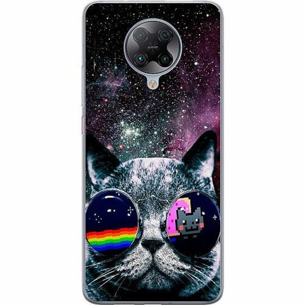 Xiaomi Poco F2 Pro TPU Mobilskal Space Cat