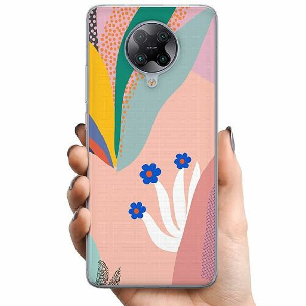 Xiaomi Poco F2 Pro TPU Mobilskal Surfs Up, Coral