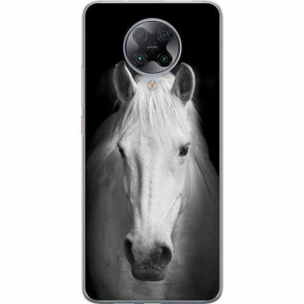Xiaomi Poco F2 Pro TPU Mobilskal Vit Häst