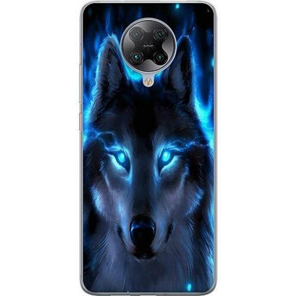 Xiaomi Poco F2 Pro TPU Mobilskal Wolf