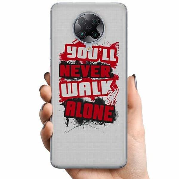 Xiaomi Poco F2 Pro TPU Mobilskal YNWA - Liverpool