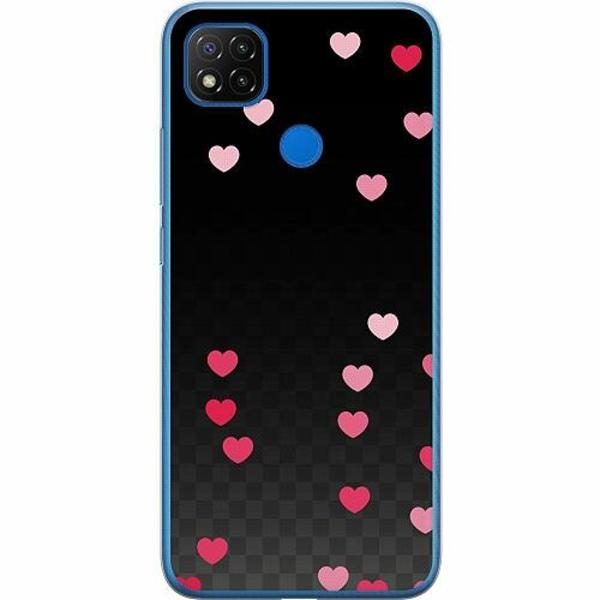 Xiaomi Redmi 9C Mjukt skal - Catch The Hearts