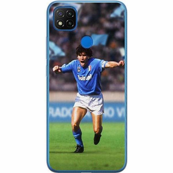 Xiaomi Redmi 9C Mjukt skal - Diego Maradona