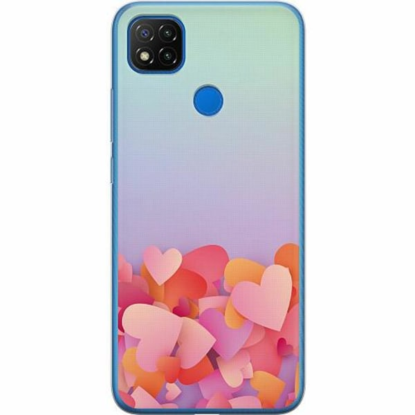 Xiaomi Redmi 9C Mjukt skal - Love In Abundance