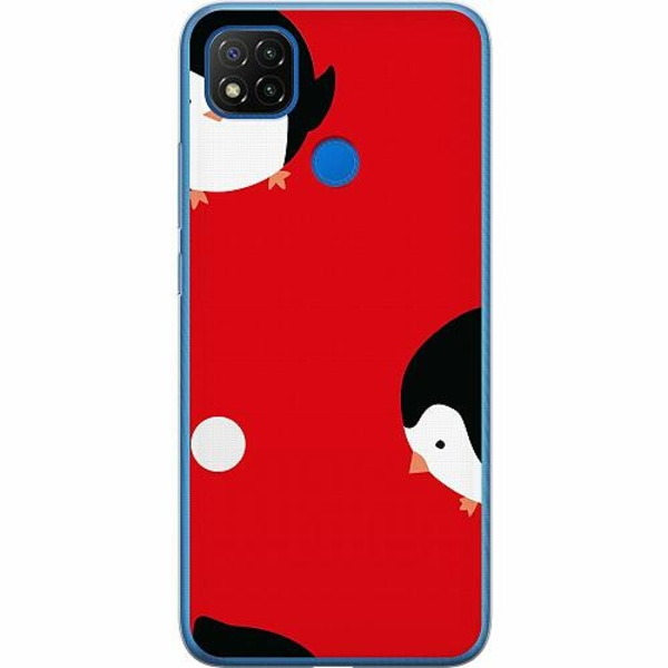 Xiaomi Redmi 9C Mjukt skal - They're Back. In Red.