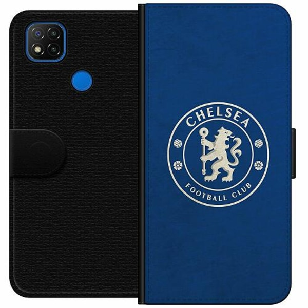 Xiaomi Redmi 9C Wallet Case Chelsea Football Club