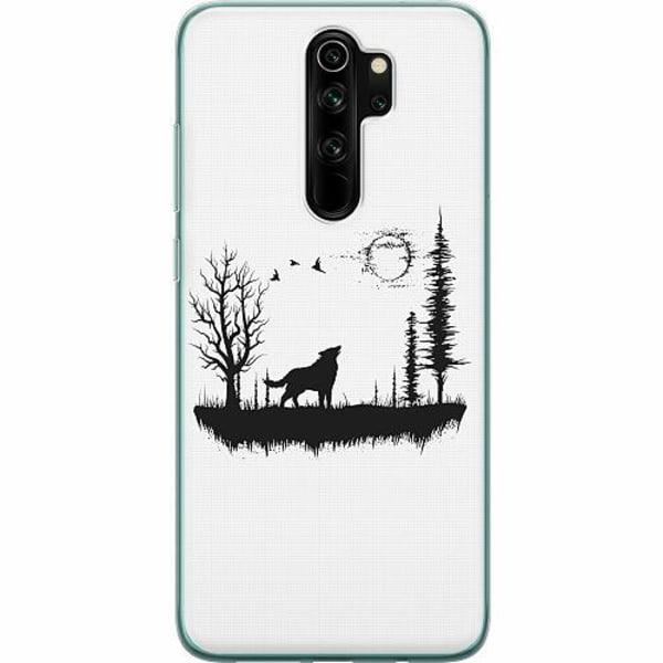 Xiaomi Redmi Note 8 Pro Mjukt skal - Landscape Wolf