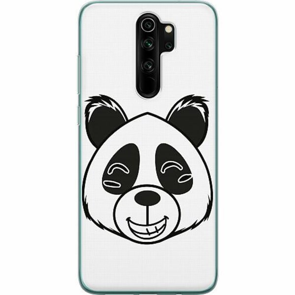 Xiaomi Redmi Note 8 Pro Mjukt skal -  Panda