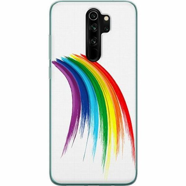 Xiaomi Redmi Note 8 Pro Mjukt skal - Rainbow