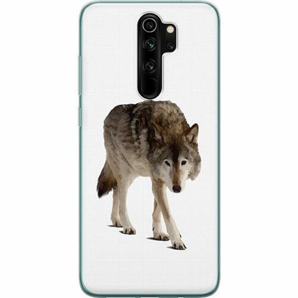 Xiaomi Redmi Note 8 Pro Mjukt skal - Wolf Companion