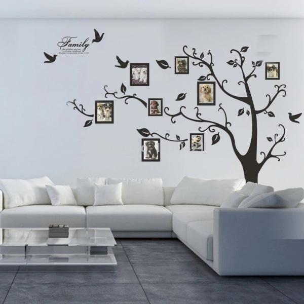 Väggdekor Familjeträd Stor 250*200 cm