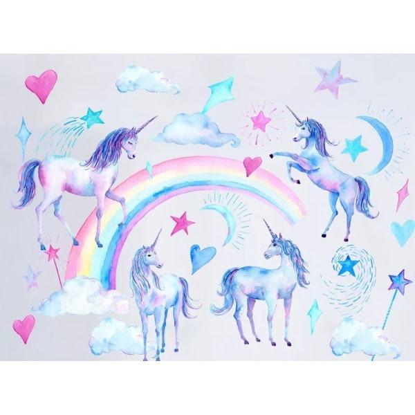 Väggdekor Unicorns Fairy