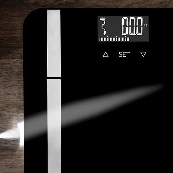 Digital Badrumsvåg Surface Precision 9450 Full Healthy Black