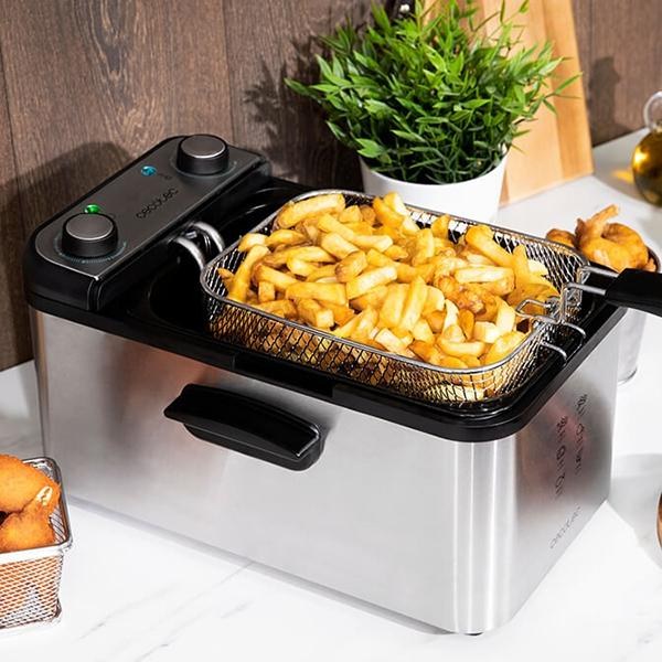 Fritös Cecotec CleanFry Infinity 3000 3 L Silver