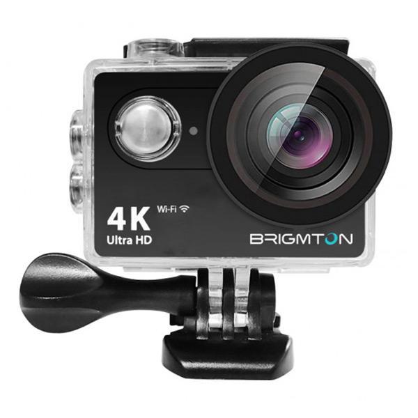 Sportkamera BRIGMTON BSC-10-HD4K Wifi Svart Black