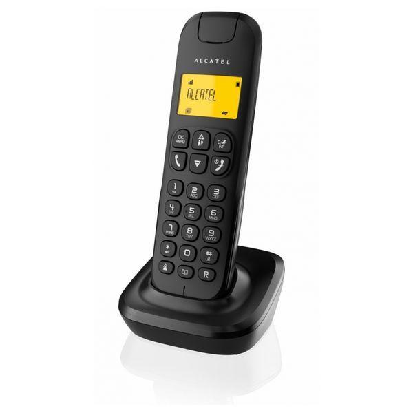 Trådlös Telefon Alcatel D-135 DECT Svart Svart