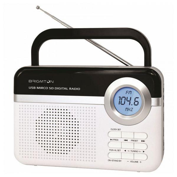 Transistorradio BT251B Vit White