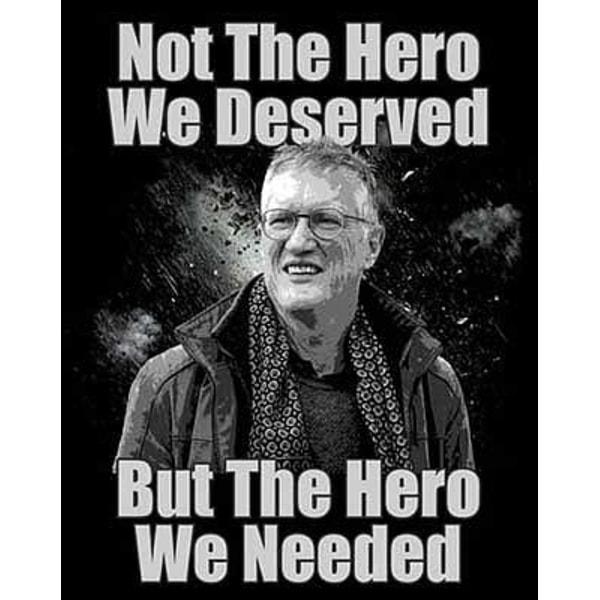 T-Shirt Hero Tegnell XXL