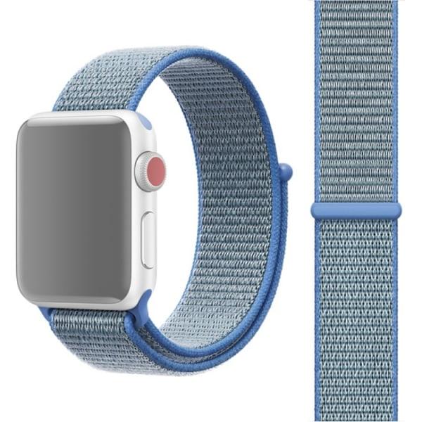 Apple Watch 42mm / 44mm Nylonarmband Röd