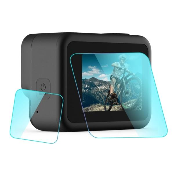 GoPro Hero8 skärmskydd och linsskydd i härdat glas