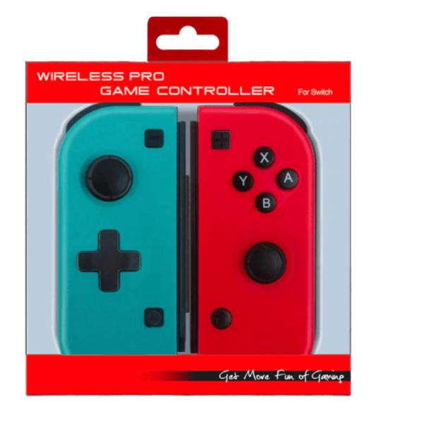 Handkontroller för Nintendo Switch Joy-Con Pair Röd & Blå