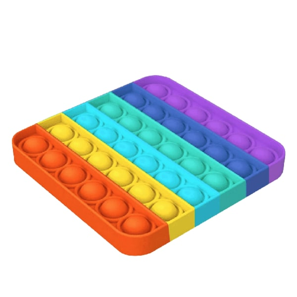 Pop It Fidget Toys Regnbåge