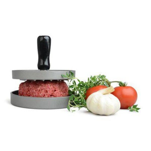 No1 BBQ Hamburgerpress i Aluminium
