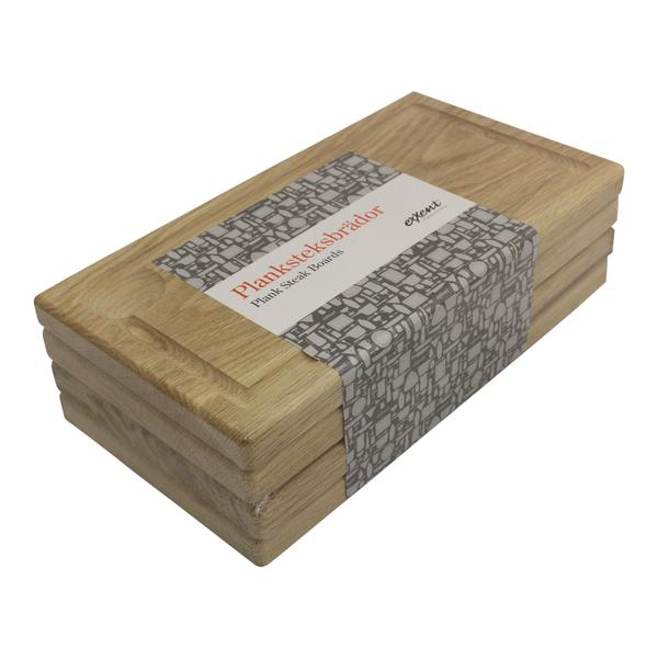 No1 Exxent Planksteksbräda  Planksteksbrädor  Ek 4-pack