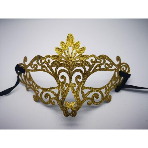 Ögonmask med glitter & ornament