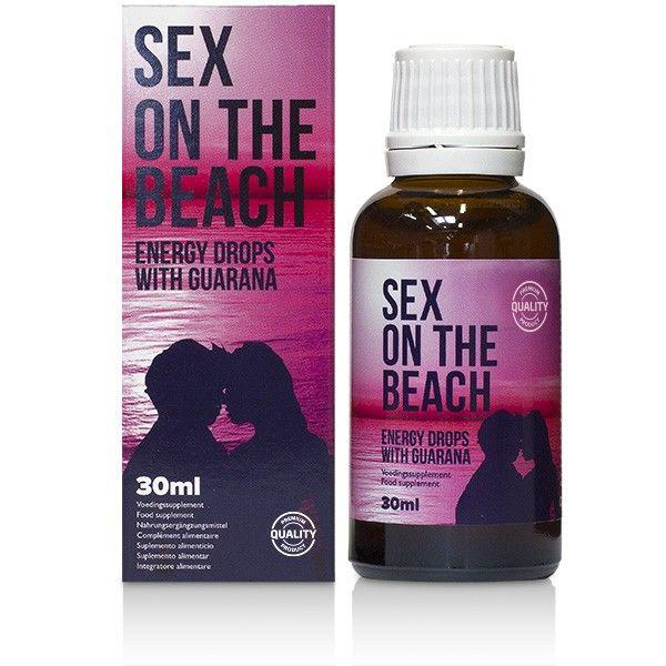 Cobeco Sex On The Beach Energy Drops With Guarana 30 ml Transparent one size