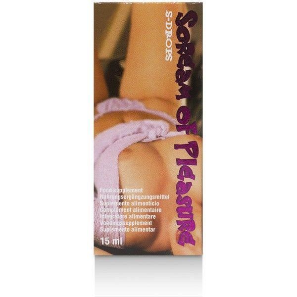 Cobeco Scream of Pleasure Drops 15 ml Transparent one size