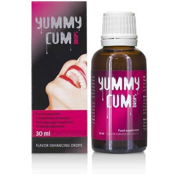 Cobeco Yummy Cum Drops 30ml Transparent one size