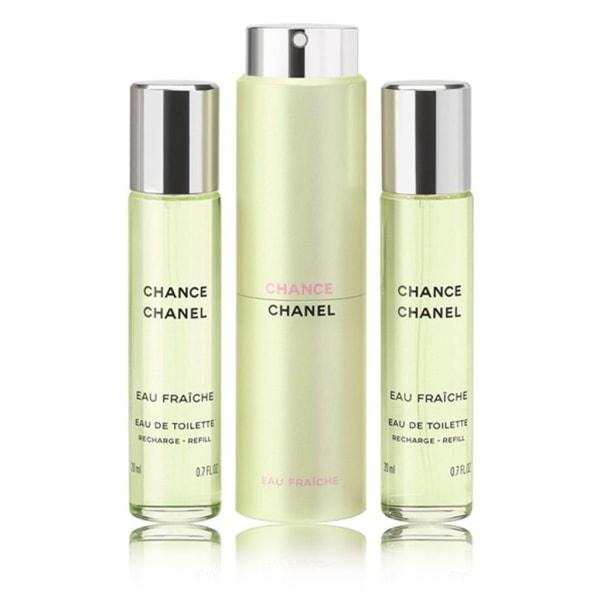 Chanel Chance Eau Fraiche Twist & Spray 3x20ml