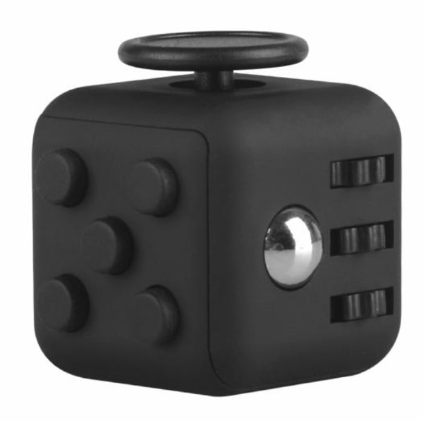 Fidget Cube - Stressleksak, Svart Black