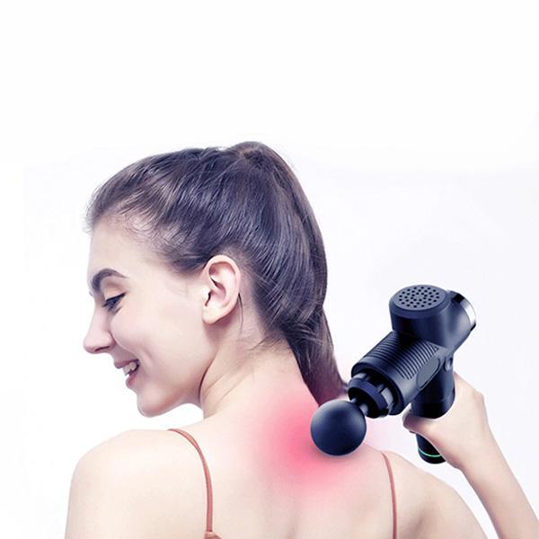 Massagepistol Extreme 700 - Svart Svart