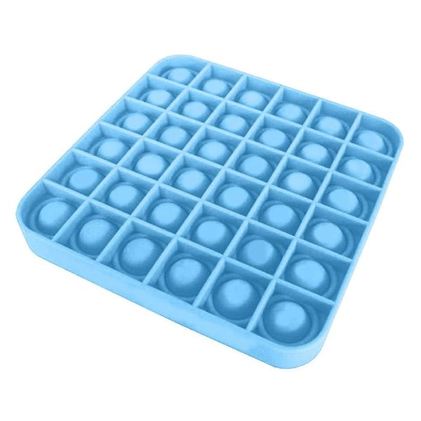 Pop It Fidget Bubble Square - Blå