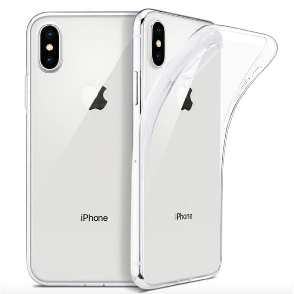iPhone X/Xs silikonskal - Transparent Transparent